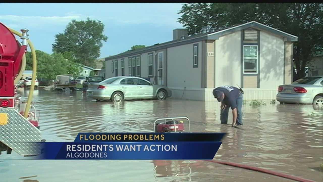 Algodones Flooding Meeting