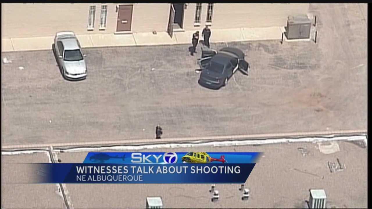 4 shot in Albuquerque: Witnesses speak out