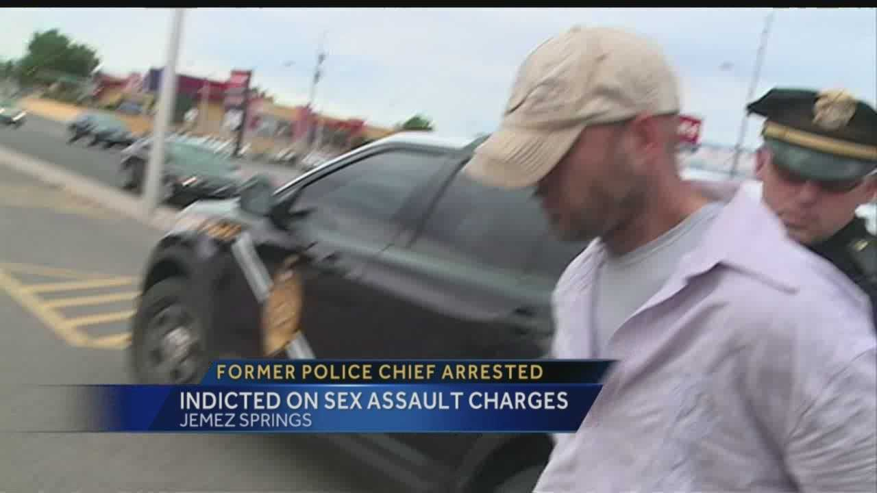 Former police chief indicted on sex assault charges