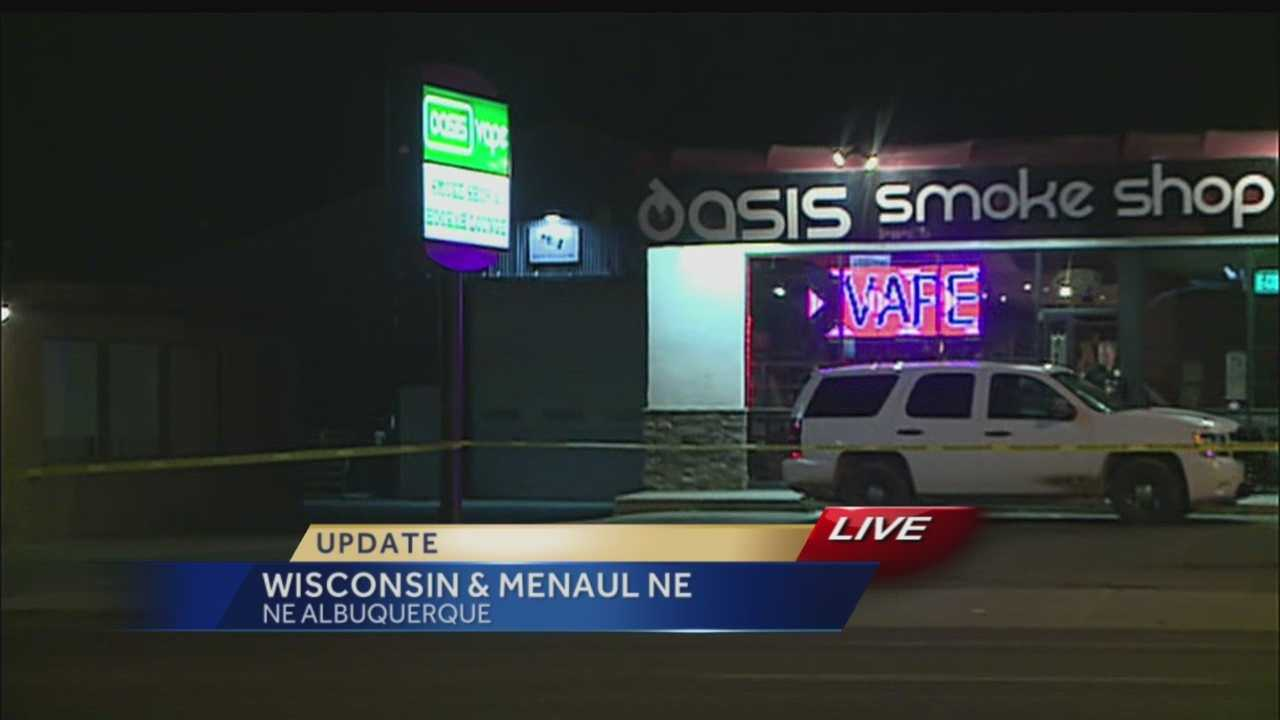 Police say a man died today during a botched robbery and we have confirmed he was the suspect.