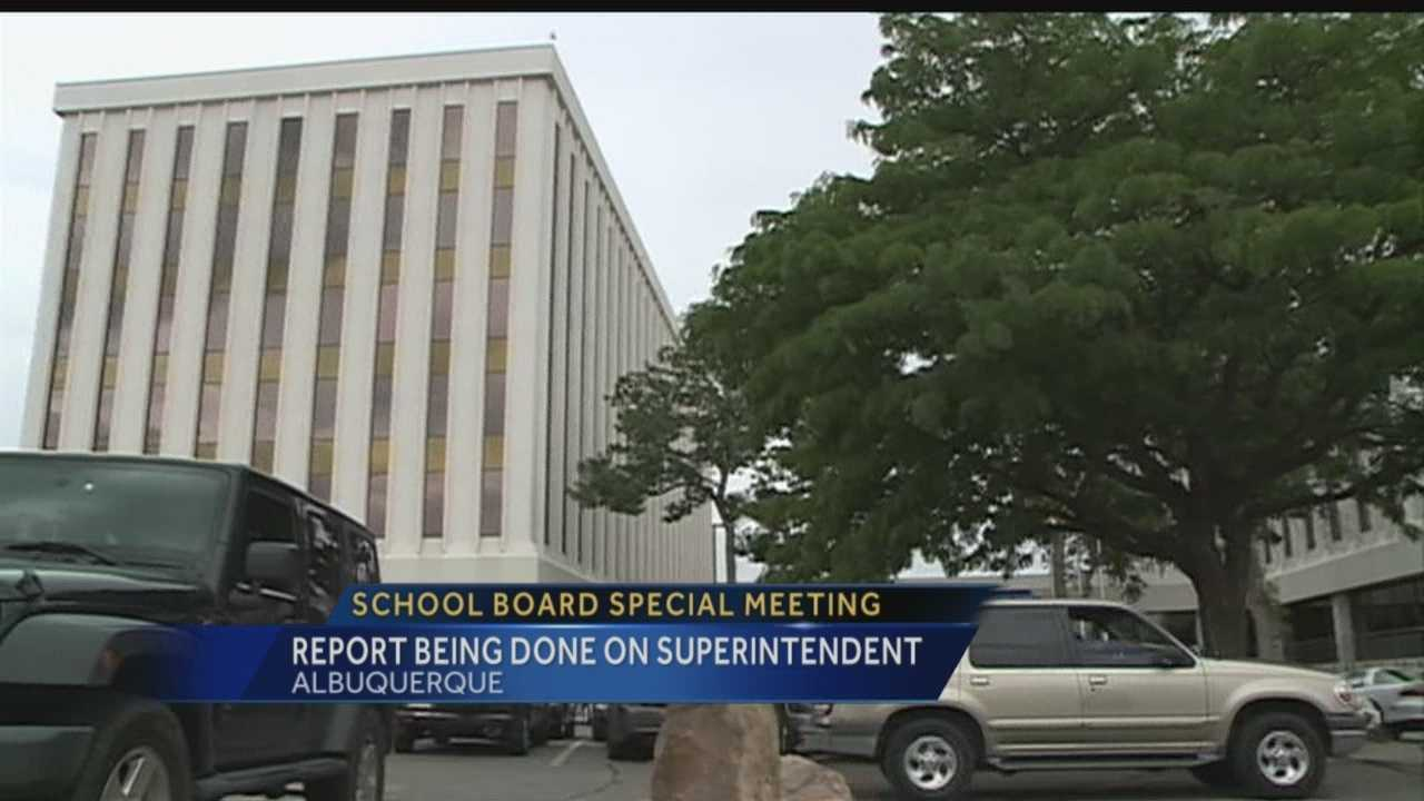 Albuquerque students don't go back to school until Wednesday. But tomorrow, there's a special board meeting about the superintendent. Exactly what will be discussed is a mystery, but we do know it involves a report on Winston Brooks.