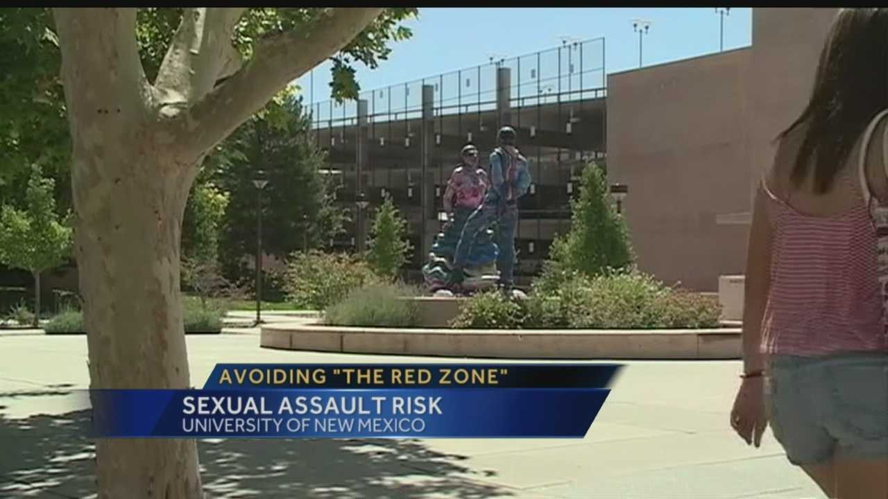 """Local college freshmen are about to enter the """"Red Zone""""."""
