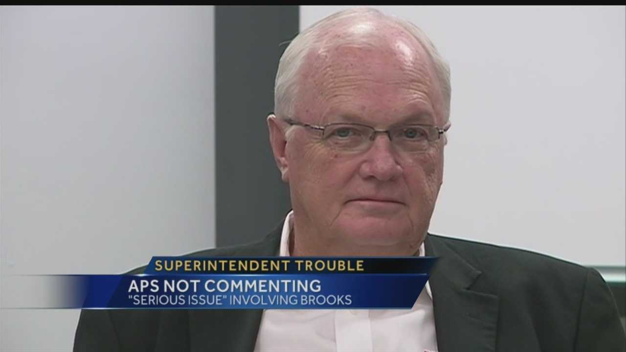 Superintendent trouble: APS not commenting
