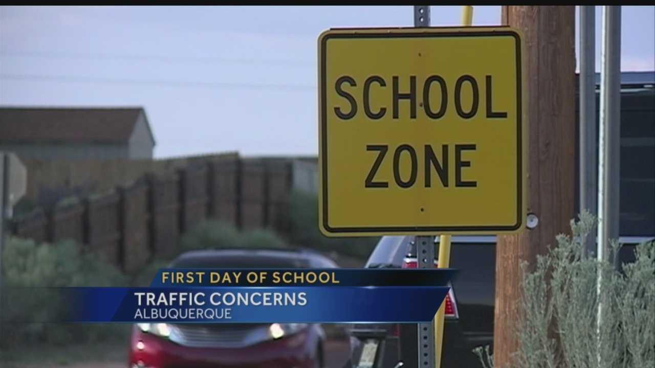 First Day of School Traffic