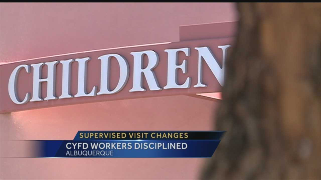 Supervised visit changes&#x3B; CYFD workers disciplined