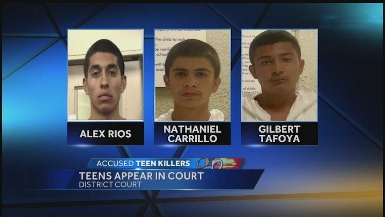 Fatal homeless beatings: Teens appear in court