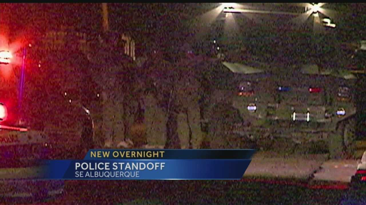 Overnight Police Standoff