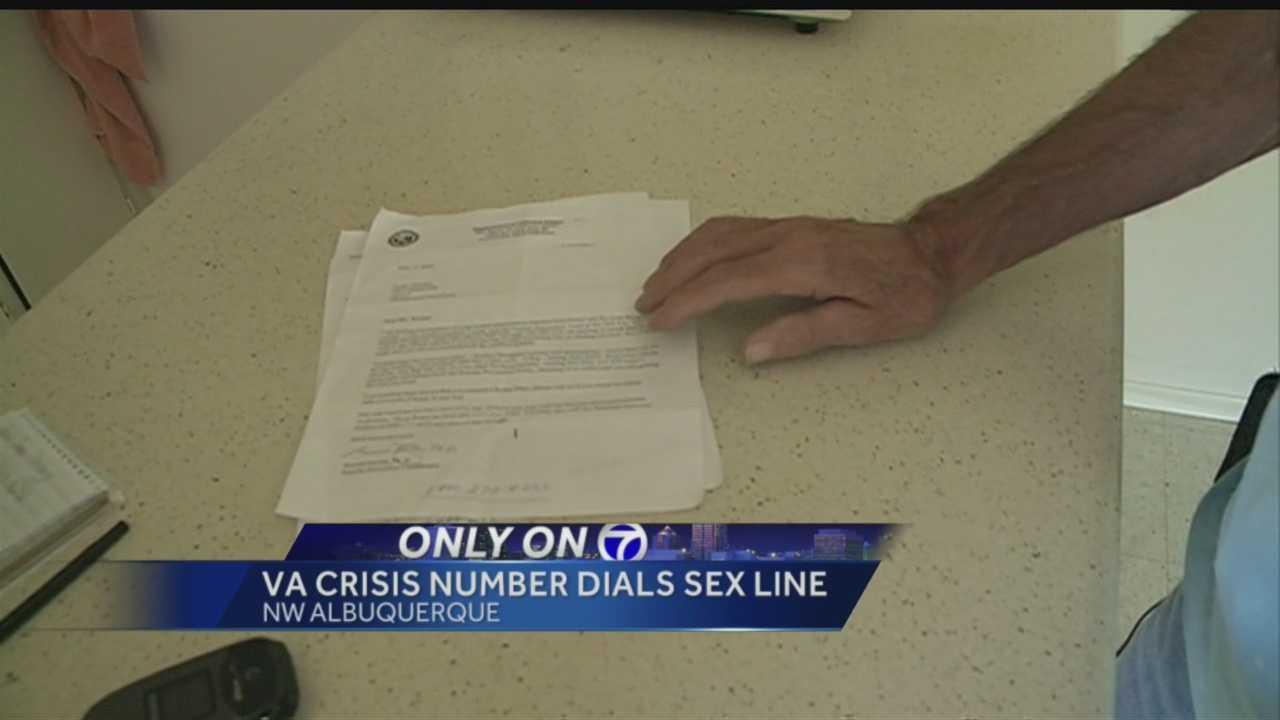 A local veteran got a disturbing surprise when he called what he thought was a crisis help line.