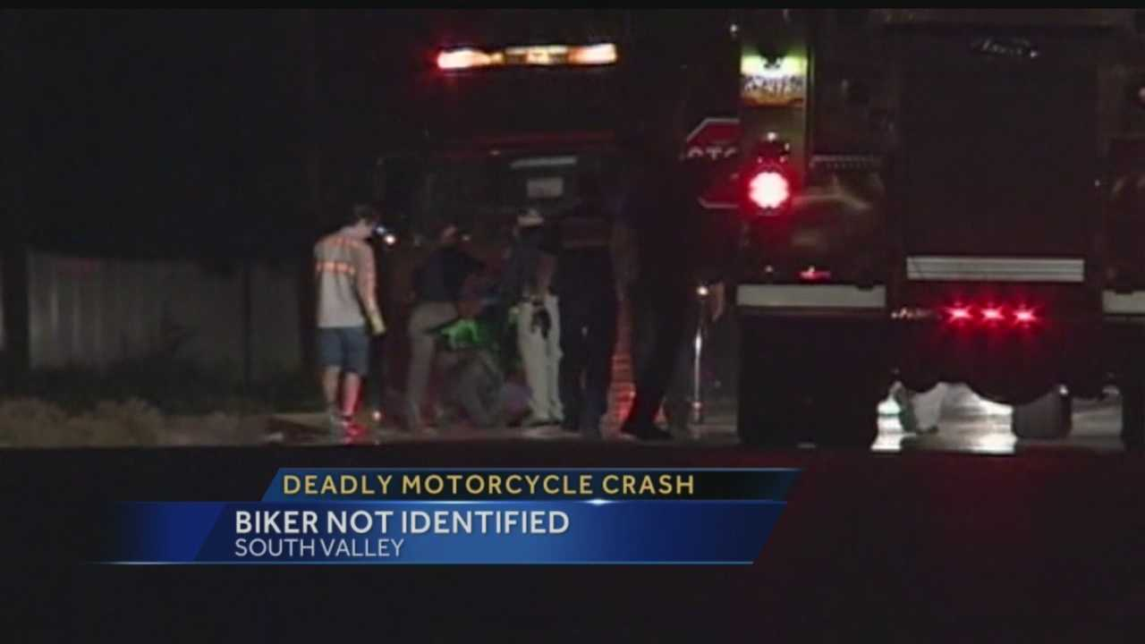 Overnight Motorcycle Accident