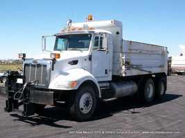 2008 Peterbilt 340 tandem dump truck