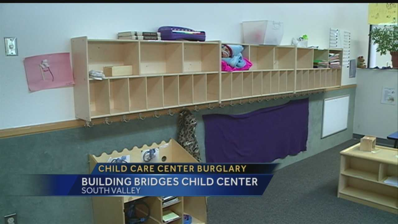 Royale reports from the South Valley's Building Bridges Child Center