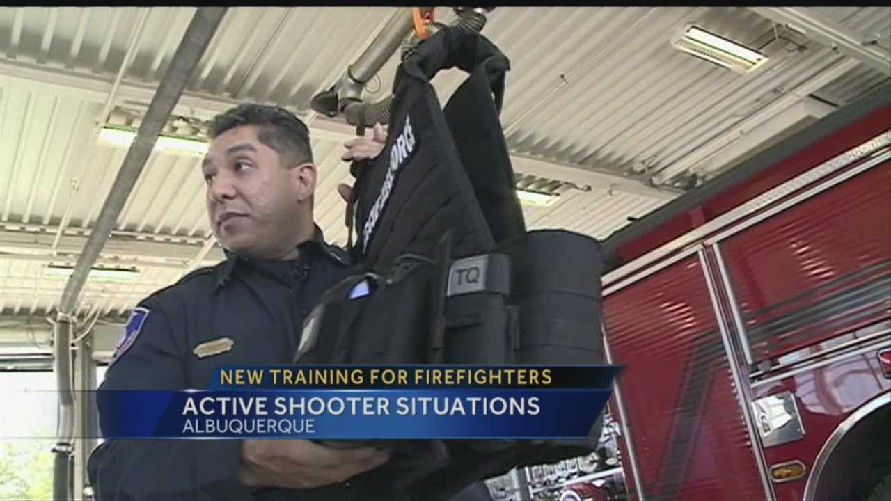 New training fore firefighters: Active shooter training