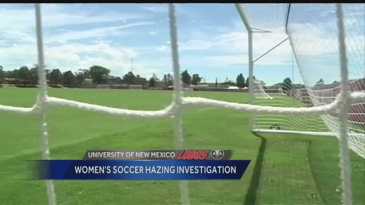 UNM women's soccer hazing investigation