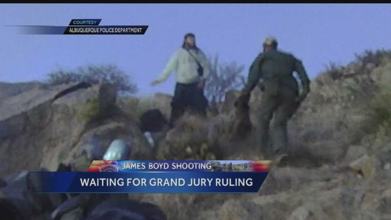 James Boyd shooting: Waiting for grand jury ruling