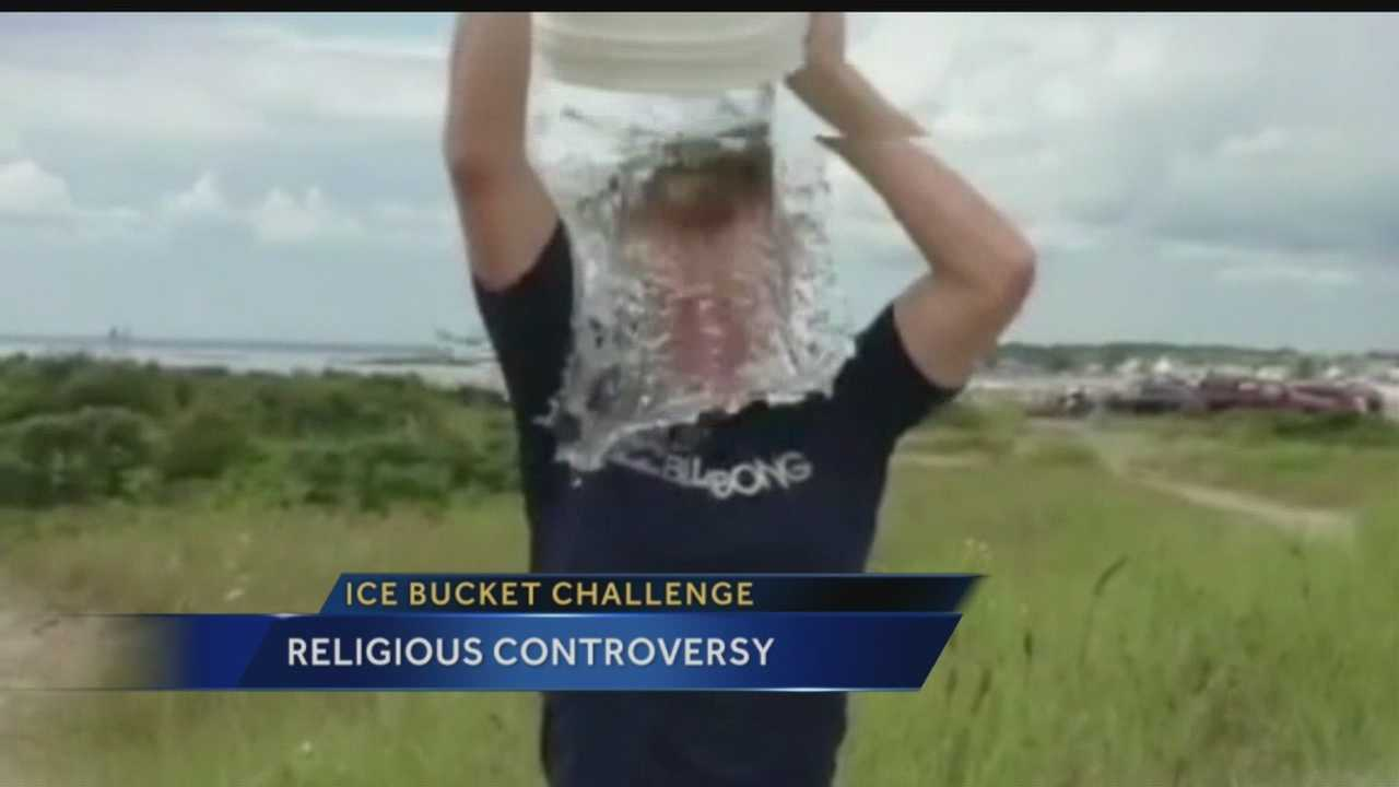It's all over social media people getting buckets of ice water poured over them to raise money for ALS research.