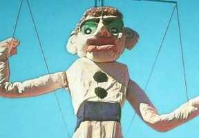 Will Shuster's 90th Zozobra will burn on Friday, Aug. 29 at Fort Marcy Park (Ft. Marcy Ballpark).
