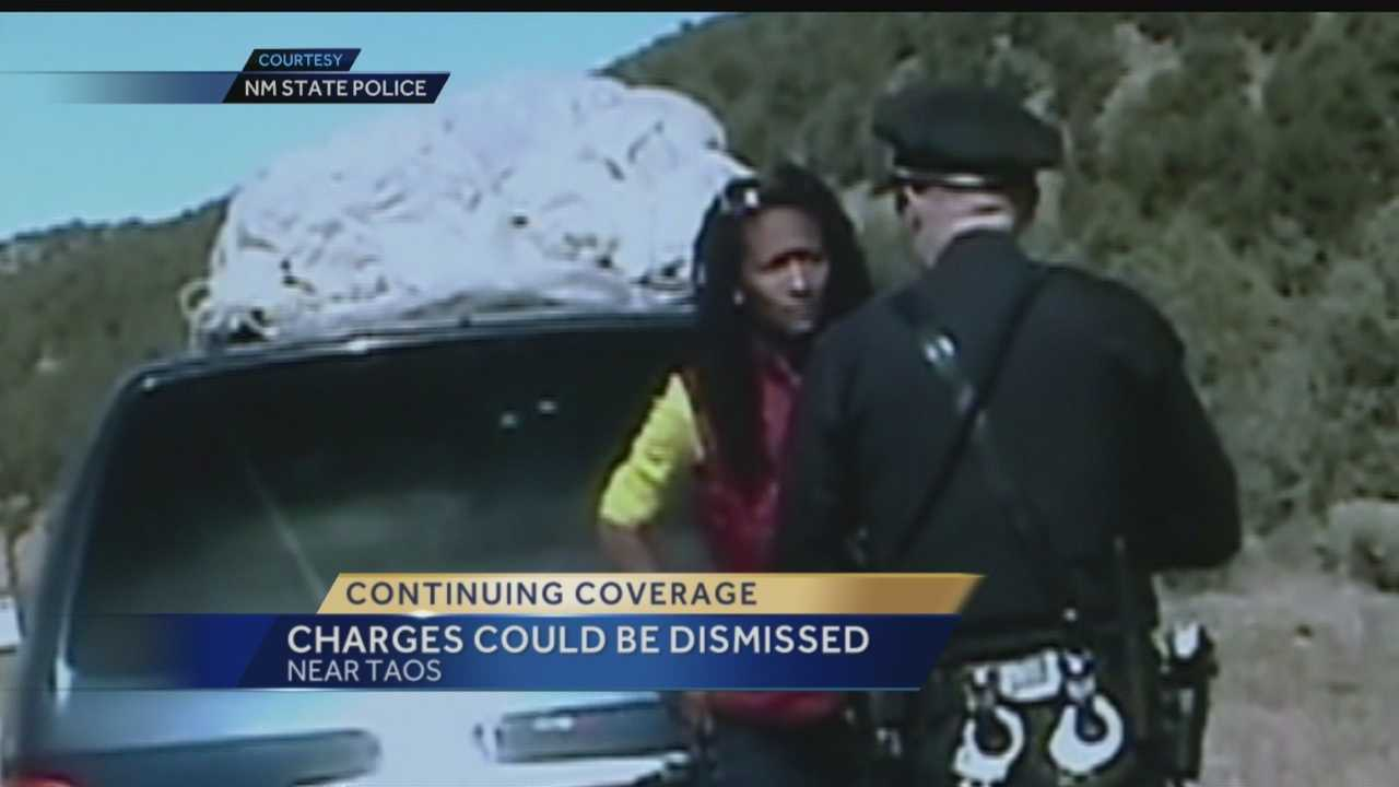 Taos traffic stop: Charges may be dismissed