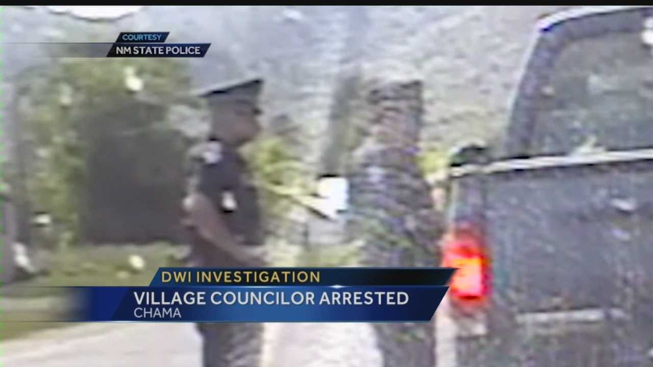 DWI investigation: Chama councilor arrested