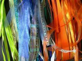 Use ribbon, says fitness guru Valerie Orsoni.