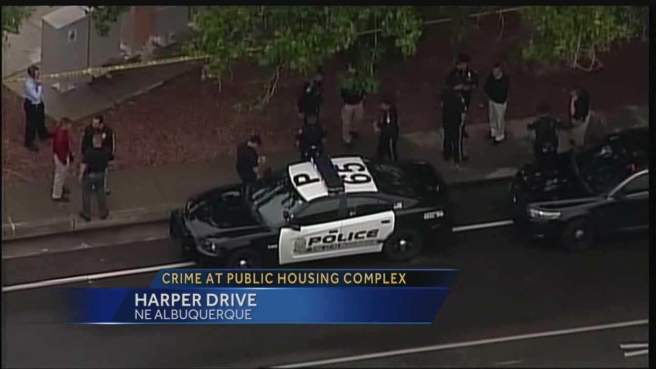 Crime at public housing complex