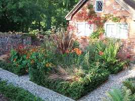 Tend a garden.
