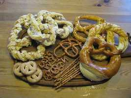 Try foods high in carbohydrates (try pretzels or a bagel).