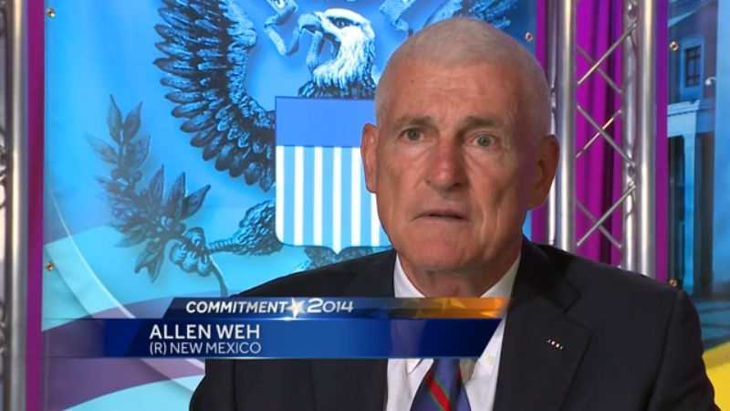 Allen Weh makes his case for Senate in an exclusive interview.