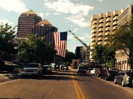 Click through this slideshow to see different ways that New Mexicans honored those who died on 9/11.