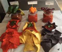 Best Salsa Winner: U local member Rizae_27 for the selection of traditional salsa and fiesta chips