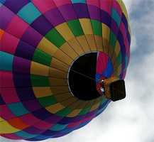 Watch a mass ascension at Balloon Fiesta