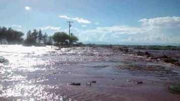 Arroyo overflow near Tularosa by u local member KnoxTD