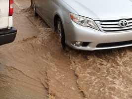 Lots of rain in Alamogordo by Julio Mendoza.