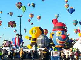 There will be 13 new balloons this year at Balloon Fiesta. Check out a sneak peek of the new balloons.