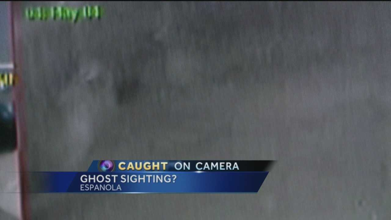 Ghost caught on camera at NM police station, officer says