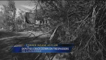 (Torn down) Abandoned Insane Asylum, Albuquerque