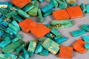 30. Turquoise jewelry