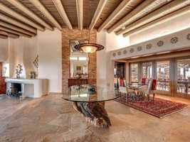 Take a peek inside this 6,000-square foot home for sale in Santa Fe that's featured on Realtor.com
