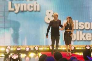 Singer Riker Lynch, of R5 is teamed up withAllison Holker.