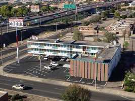 Crossroads Motel, 1001 Central Ave. NE