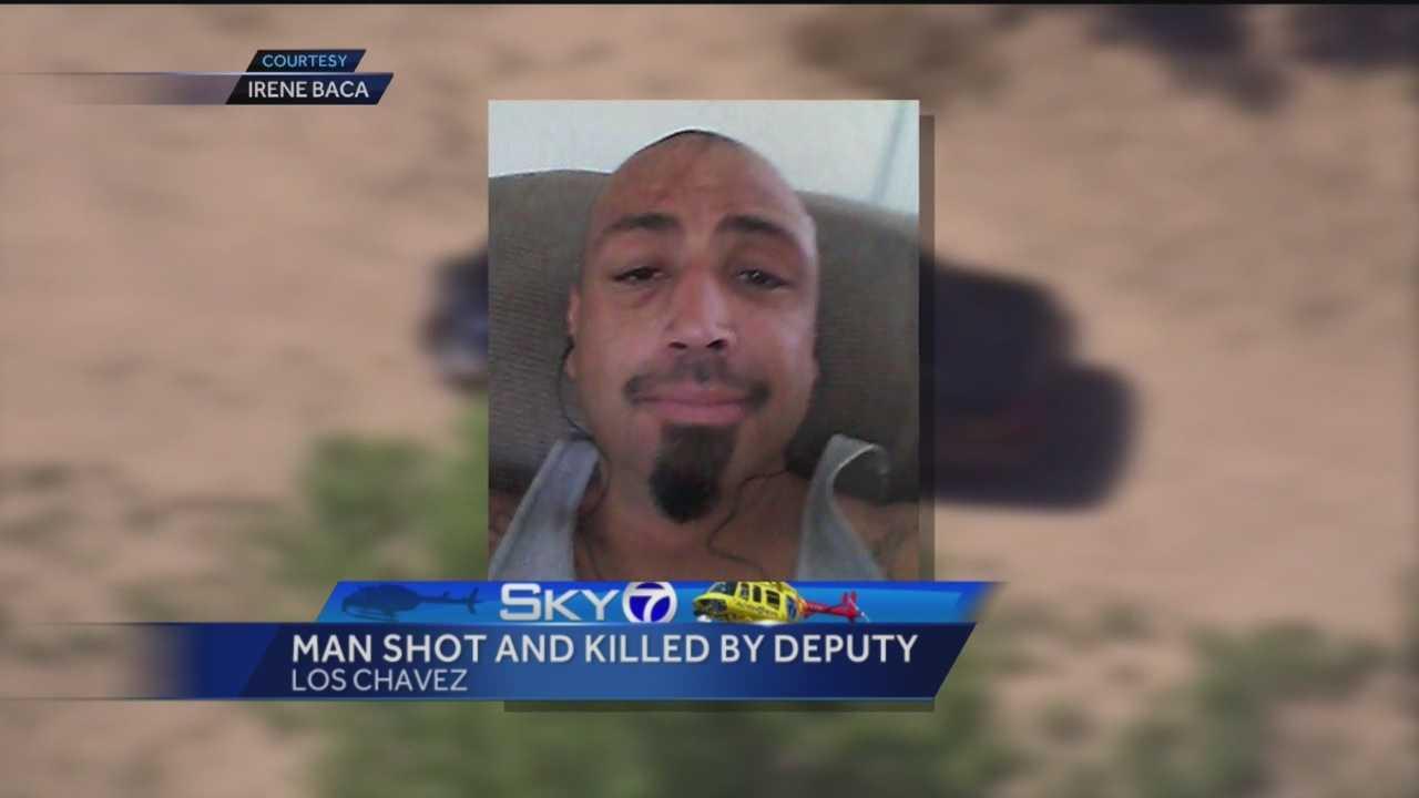 Man shot and killed by deputy