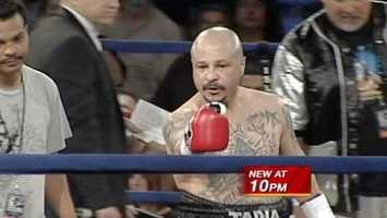 Johnny Tapia. Born in Albuquerque in 1967. World champion boxer.