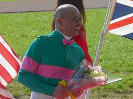 Mike Smith. Born in Roswell in 1965. Has won each leg of the Triple Crown as a jockey.