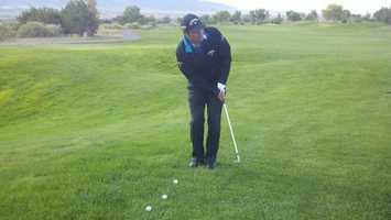 Notah Begay III. Born in Albuquerque in 1972. Multiple PGA Tour wins, owns lowest score (62) in NCAA history.