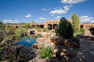 Take a look inside this 11,000 square foot mansion for sale in Santa Fe that's featured on Realtor.com.