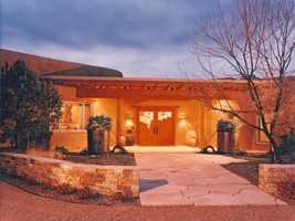 Take a look inside this 8,100 square foot home that's for sale in Santa Fe and featured onRealtor.com