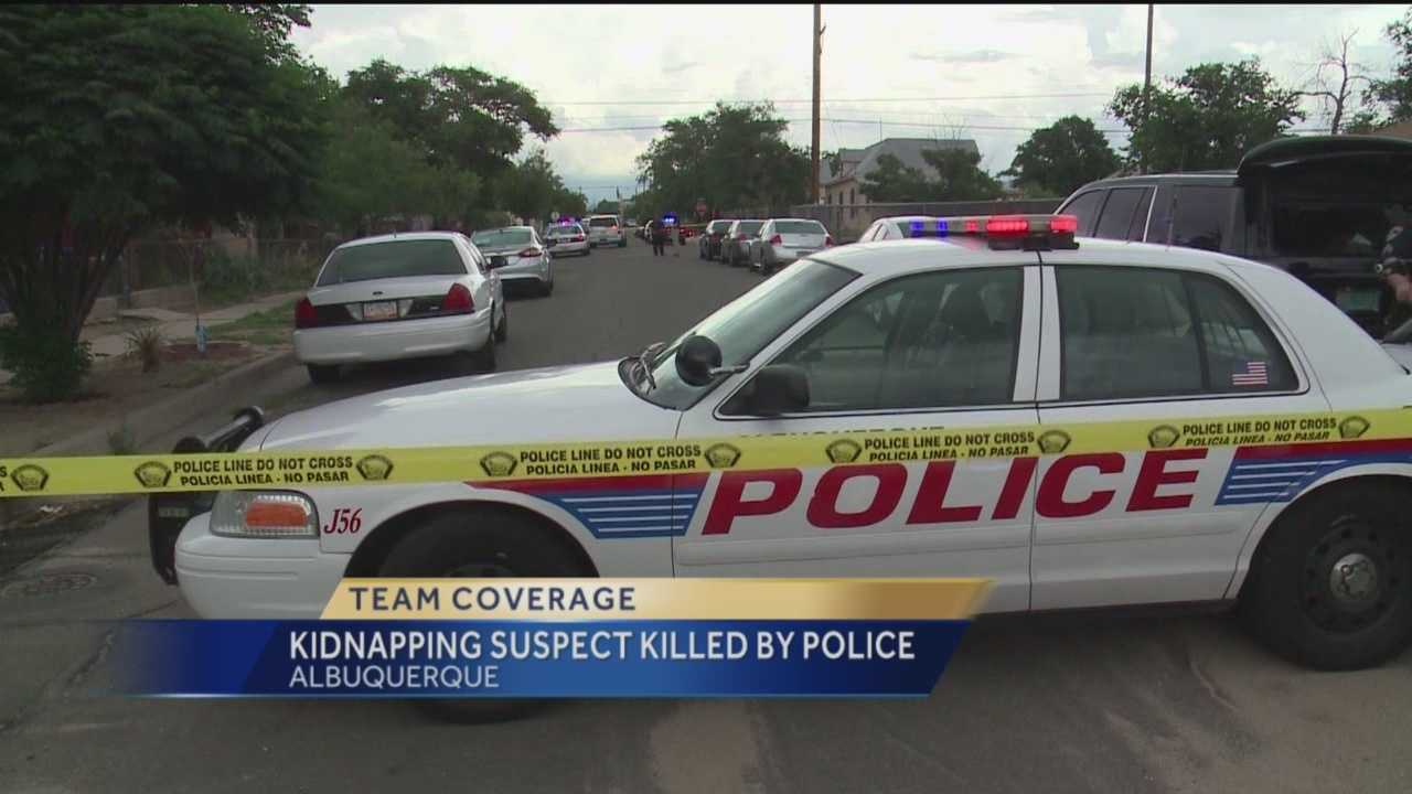 Kidnapping suspect killed by police