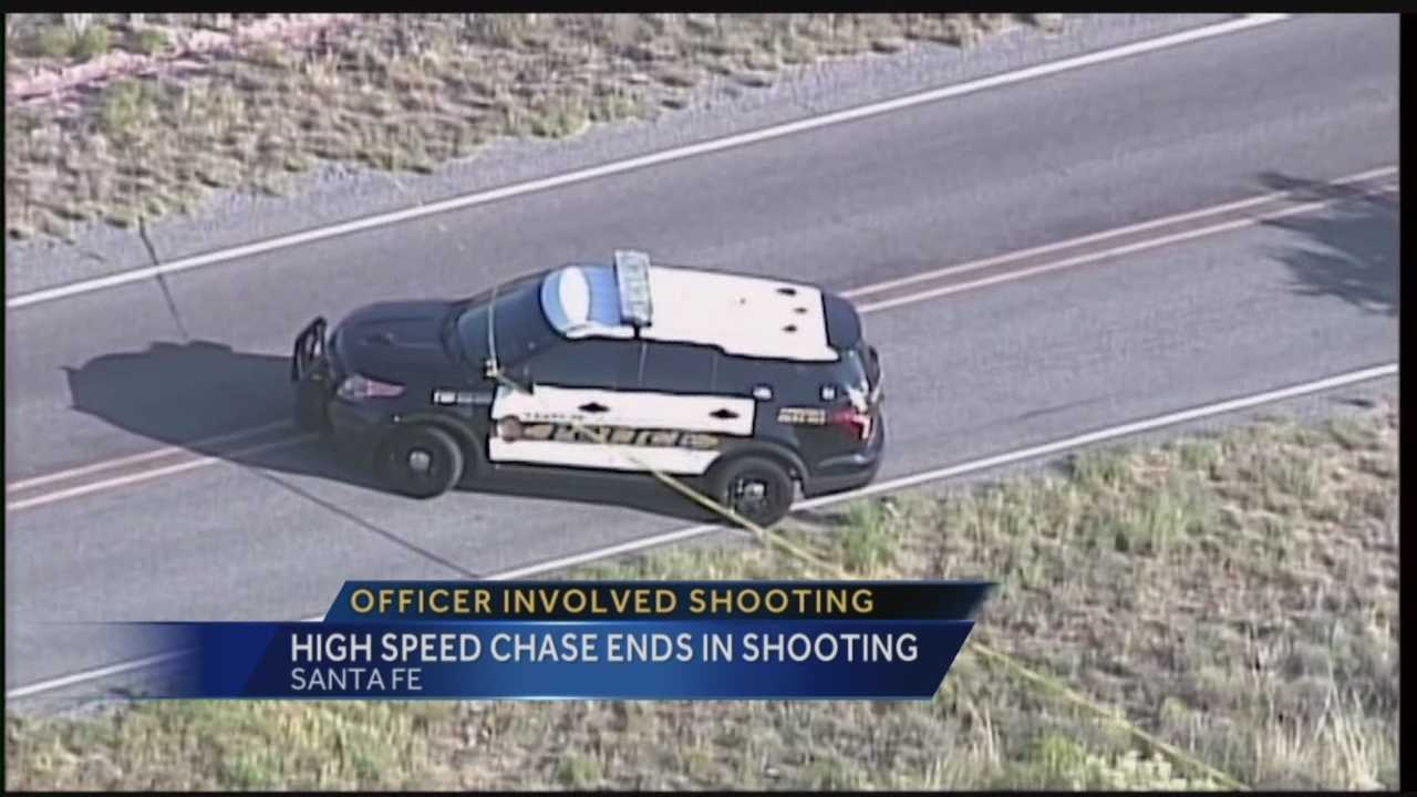 High Speed Chase Ends In Shooting