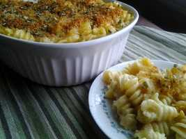 Green Chile Mac-n-Cheese by u local user Amvschmidt. CLICK HERE to see the recipe