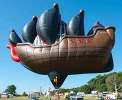 Pirate Ship (Courtesy Albuquerque International Balloon Fiesta)