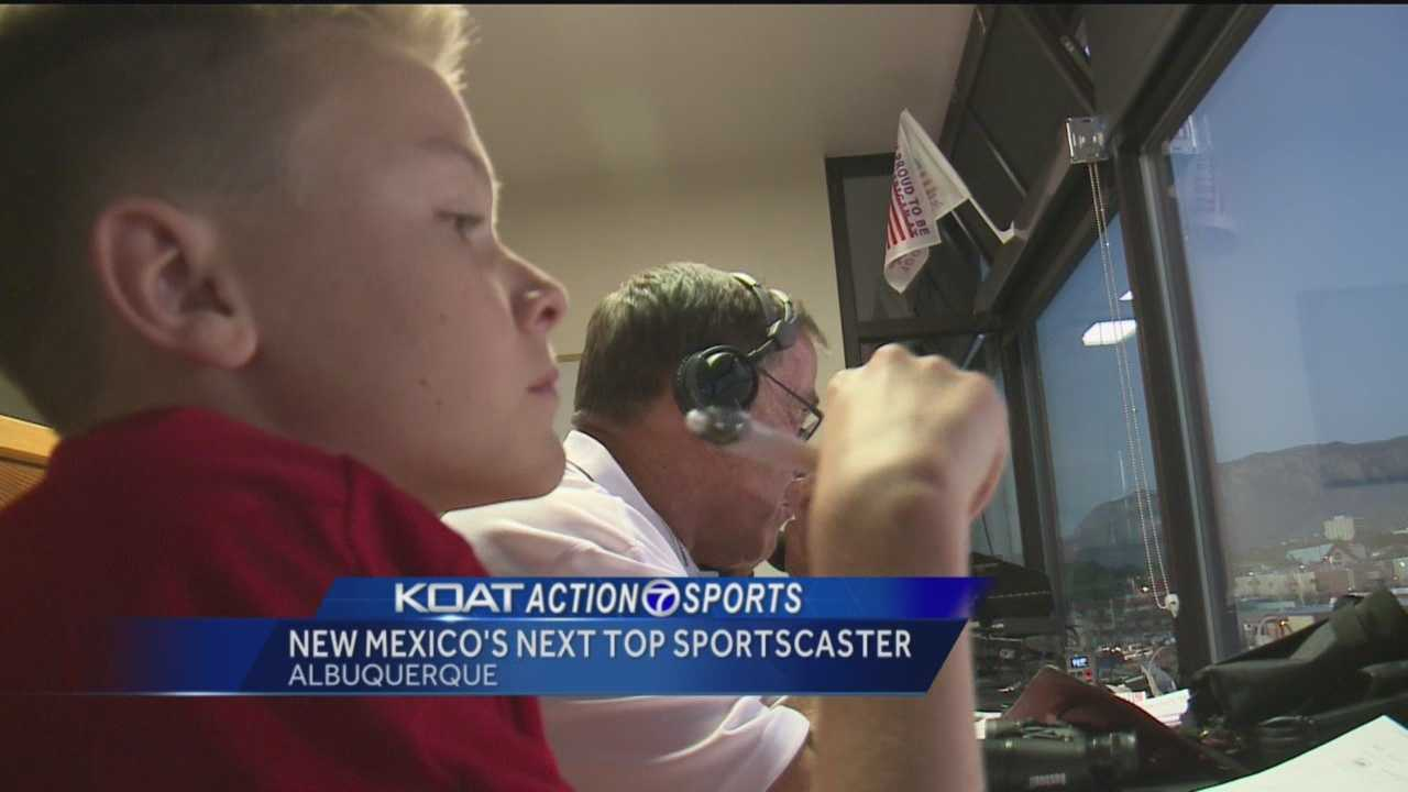 New Mexico's next top sportscaster